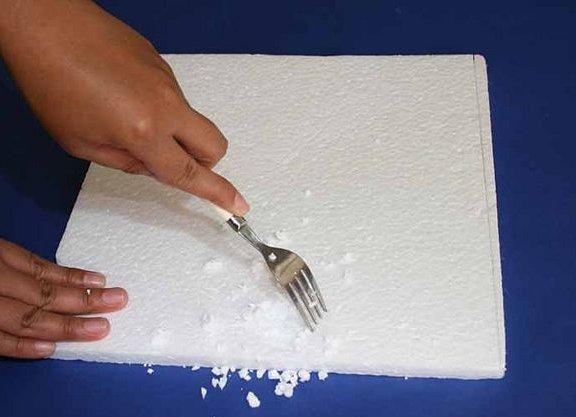 Как сделать искусственные снег