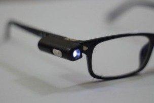 Как сделать очки с фонариком