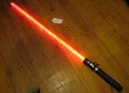 Как сделать световой меч
