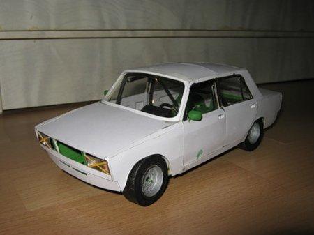 Как сделать бумажную модель автомобиля