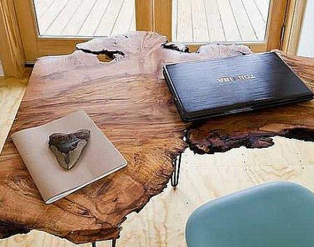 Чем хороши столы из слэбов